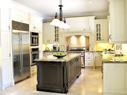 Jamestown Designer Kitchens by Mid Continent Cabinetry With Maple Island And Carbon Finish
