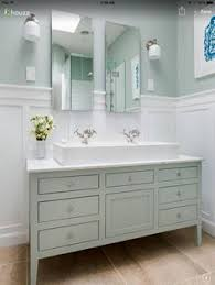 Furniture Style Vanity Furniture Style Bathroom Vanity Made From Stock Cabinets U2013 Part 1
