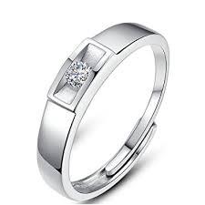 mens rings uk minalo sterling silver gorgeous adjustable ring engagement wedding