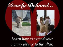 Marriage Caption Essentials For Florida Notaries Performing Marriage Ceremonies