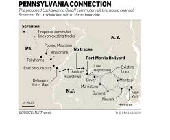 Nj Train Map Nj Transit Works To Restore Rail Service Along 81 Mile Lackawanna