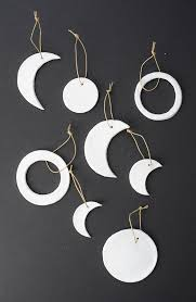 and loisdiy moon phase clay ornaments and lois