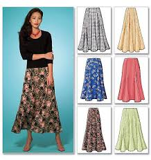 pattern for simple long skirt 57 best skirts capris pants and culottes images on pinterest