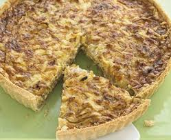 Quiche Blind Bake Or Not Sticky Onion U0026 Cheddar Quiche Recipe Bbc Good Food