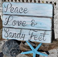 beach signs home decor perfect beach decor handpainted no vinyl coastal beach art quote