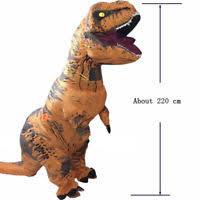 Dinosaur Halloween Costume Jurassic Inflatable Costume Rex Dinosaur Ebay