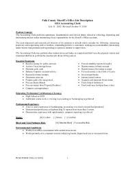 Accounting Assistant Job Description For Resume by Accounting Clerk Job Description Accounts Payable Clerkaccounts