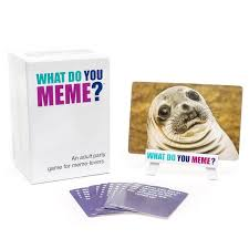 Meme Card Game - what do you meme official site