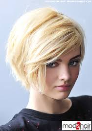 Bob Frisuren Kurz Blond by Frisuren Bilder Frauen Lieblicher Stufen Bob In Blond