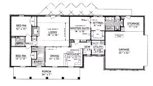 small ranch style house plans small ranch floor plans house plan ottawa 30 601 bright style