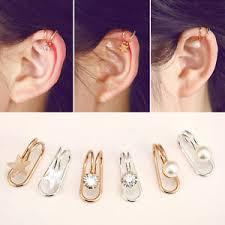 earrings for cartilage 1pair diy clip on earrings cartilage ear cuff clip