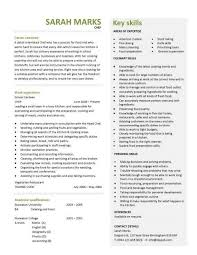 Chef Resume Templates Cook Resume Template Resume Builder