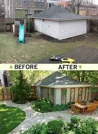 Backyard Renovations Before And After Best 25 Yard Before And After Ideas On Pinterest Cheap