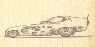 classic cars drawings the old one energy dynamics pro stock evolution u0026 the funny