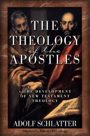the theology of the apostles the development of new testament