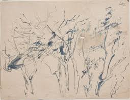 trees sketches from wangi and lake macquarie by william dobell