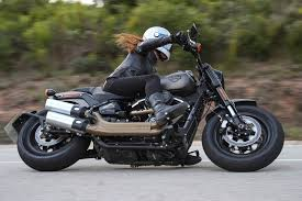 first ride harley davidson fat bob 114 visordown