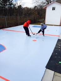 Backyard Hockey Rink by Synthetic Ice Rink For Backyard Or Basement Don U0027t Make Me Do It