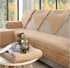 couverture canapé flanelle 4 couleurs canapé couvre plumer tissu tricot écologique