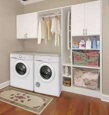 Laundry Cabinet With Hanging Rod Laundry Room Cabinets Scottsdale Az Laundry Room Designers