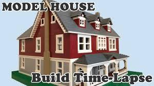lego model dream house time lapse build youtube