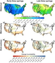 Synoptic Weather Map Definition Spring Plant Phenology And False Springs In The Conterminous Us