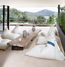 chill floating outdoor bean bags by dvelas couture outdoor