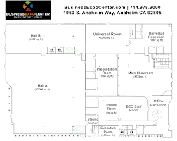 Orange County Convention Center Floor Plan by Room Floor Plan Layouts Business Expo Center