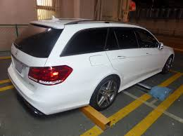 mercedes e250 station wagon file mercedes e250 stationwagon s212 at rear jpg