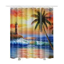 Lighthouse Curtains Bathroom by Shower Curtain Picture More Detailed Picture About Beach Shower