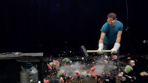watching brent rose destroy common objects with liquid nitrogen is