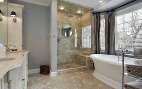 large bathroom designs modern small bathroom remodel idea incorporating large windows