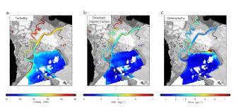 san francisco delta map nasa demonstrates airborne water quality sensor nasa