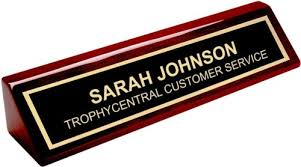 Cheap Desk Name Plates Amazon Com Desk Name Plate By Trophycentral Kitchen U0026 Dining