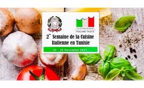 cuisine italienne la semaine de la cuisine italienne de retour en tunisie 20 26