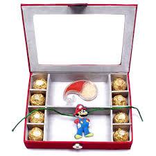 buy rakhi online kids rakhi online kids rakhi and chocolates gift box rakhis