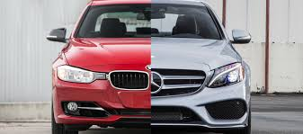 bmw vs mercedes 2015 mercedes c class vs bmw 3 series the official of