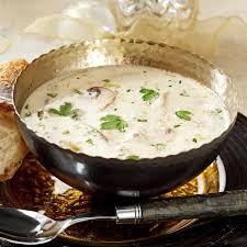 homemade cream of mushroom soup recipe taste of home