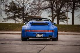 porsche headlights at night porsche 964 speedster fettled by strosek can be the 911 you u0027re