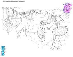 princess odette magical ballet curse coloring