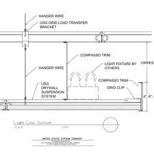 Suspended Drywall Ceiling by Usg Design Studio Light Cove Download Details