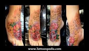 leopard print flower tattoos tattoospedia project cover