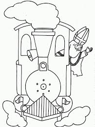 st nicholas steam train coloring coloringplus 214677 steam