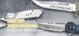 engraved buck knives buck store uk range of buck knives