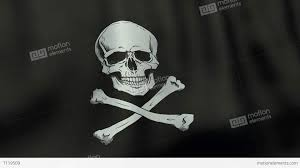 White Flag Gif 4k Ultrahd Loopable Waving Jolly Roger Pirate Flag Animation Stock