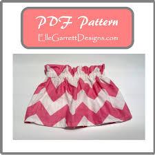 paper bag toddler shorts pattern paperbag skirt pdf pattern size 0 3 months girls 6 from