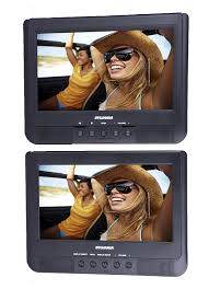 Discount 10 1 Headrest Monitor Dvd Player Outad Ultra Thin 1080p Tft Lcd Screen With Digital Touch Button Hdmi Usb Sd Port Amazon Com Proscan Pdvd1037 10 Inch Dual Screen Dvd Player