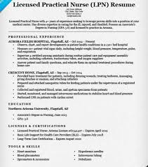 lpn resume example resume example and free resume maker