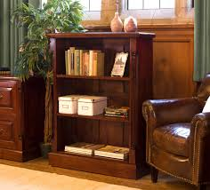 Hidden Home Office Desk by La Roque Mahogany Low Open Bookcase Imr01b