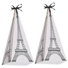eiffel tower favors party eiffel tower favor boxes